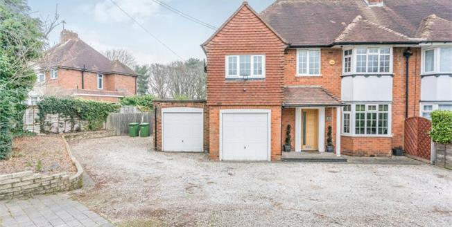Asking Price £484,950, 4 Bedroom Semi Detached House For Sale in Solihull, B92