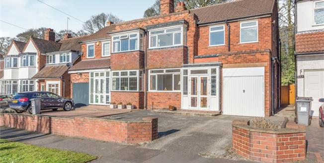 £360,000, 3 Bedroom Semi Detached House For Sale in Solihull, B92