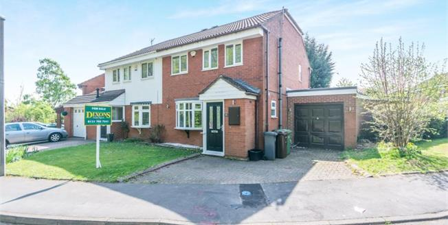 £330,000, 4 Bedroom Semi Detached House For Sale in Solihull, B92