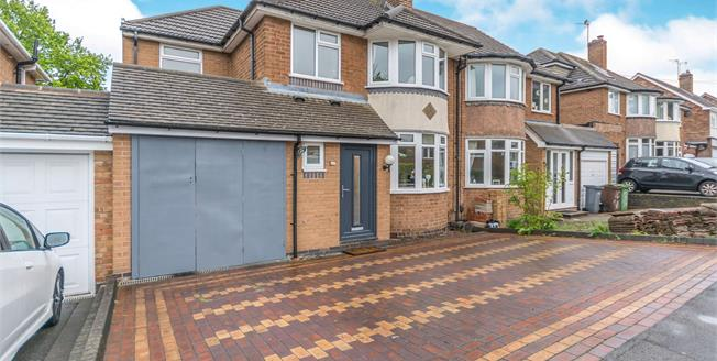 Offers Over £385,000, 4 Bedroom Semi Detached For Sale in Solihull, B91