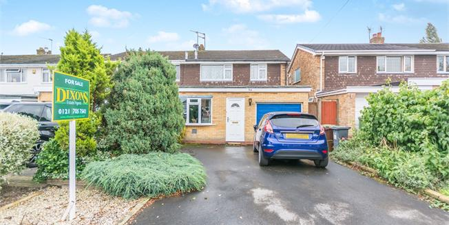 Asking Price £250,000, 3 Bedroom Semi Detached House For Sale in Solihull, B92