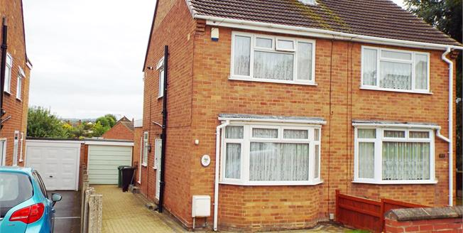 Offers in the region of £160,000, 2 Bedroom Semi Detached House For Sale in Kingswinford, DY6