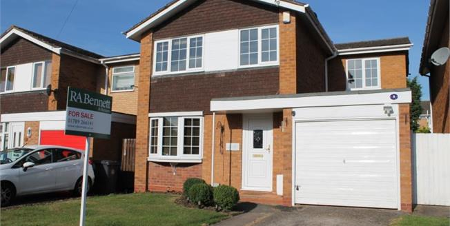 Offers Over £350,000, 5 Bedroom Detached House For Sale in Stratford-upon-Avon, CV37