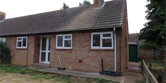 Guide Price £160,000, 2 Bedroom End of Terrace Bungalow For Sale in Lower Quinton, CV37