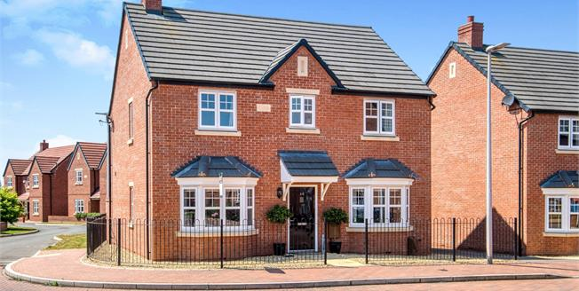 Offers Over £350,000, 4 Bedroom Detached House For Sale in Meon Vale, CV37
