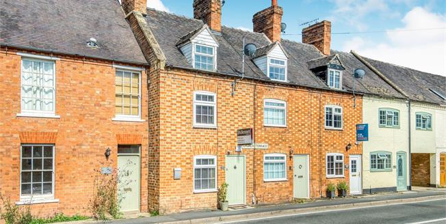 Offers Over £240,000, 3 Bedroom Terraced House For Sale in Newbold on Stour, CV37