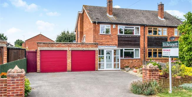 Offers Over £300,000, 3 Bedroom Semi Detached House For Sale in Lower Quinton, CV37