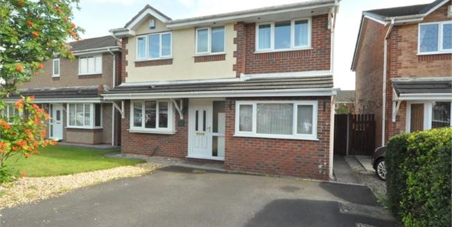 Asking Price £239,950, 4 Bedroom Detached House For Sale in Cottam, PR4