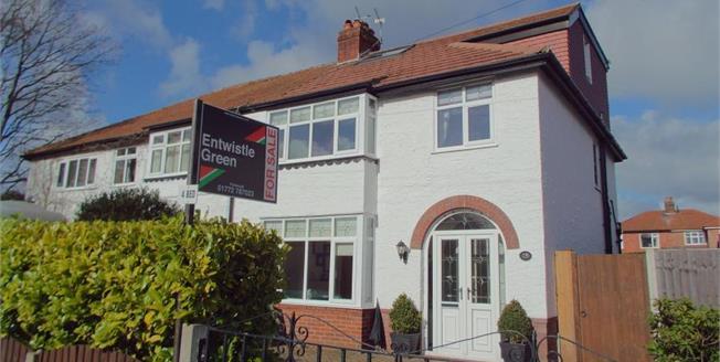 Asking Price £249,950, 4 Bedroom Semi Detached House For Sale in Fulwood, PR2