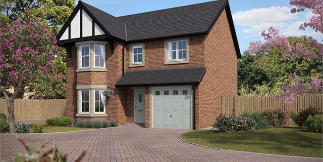 £299,995, 4 Bedroom Detached House For Sale in Cottam Preston, PR4