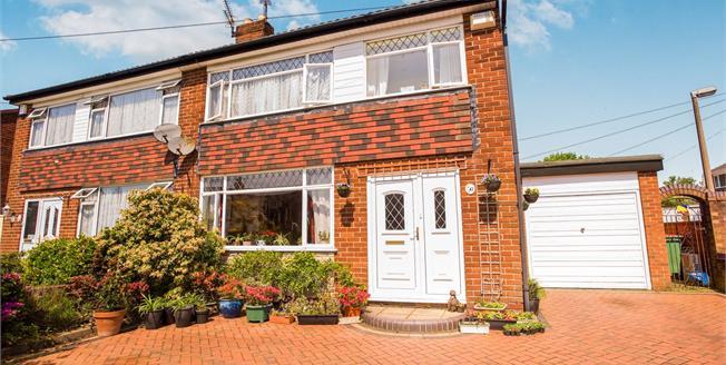 £159,000, 3 Bedroom Semi Detached House For Sale in Fulwood, PR2