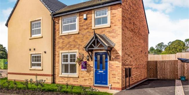 £95,498, 3 Bedroom Semi Detached House For Sale in Longridge, PR3