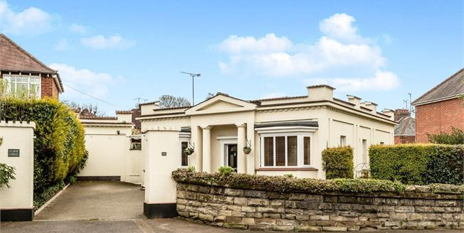 Guide Price £425,000, 2 Bedroom Detached Bungalow For Sale in Warwick, CV34