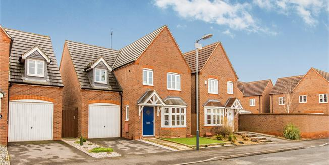 Guide Price £350,000, 4 Bedroom Detached House For Sale in Warwick, CV34