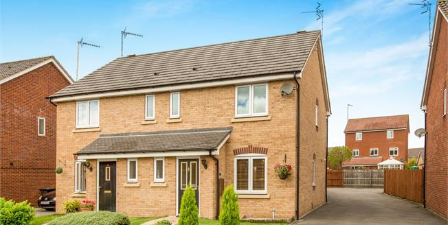 Offers Over £270,000, 3 Bedroom Semi Detached House For Sale in Warwick, CV34