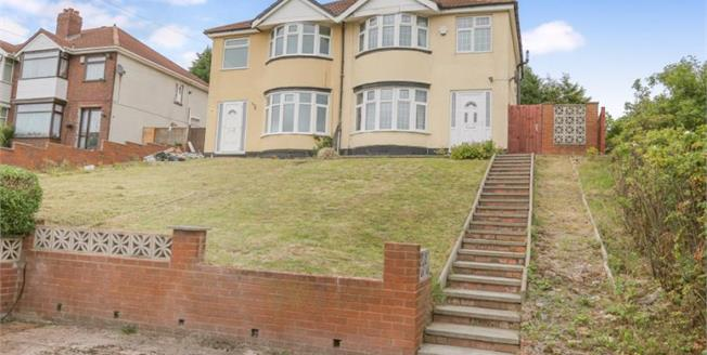 Asking Price £115,000, 3 Bedroom Semi Detached House For Sale in Willenhall, WV13