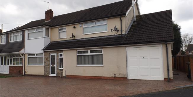 Offers Over £210,000, 6 Bedroom Semi Detached House For Sale in West Midlands, WV12