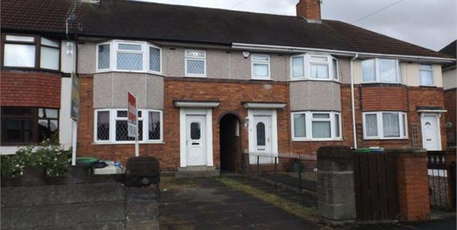 Offers Over £100,000, 3 Bedroom Terraced House For Sale in Wednesbury, WS10