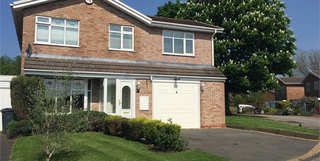 Offers Over £270,000, 4 Bedroom Detached House For Sale in Willenhall, WV12