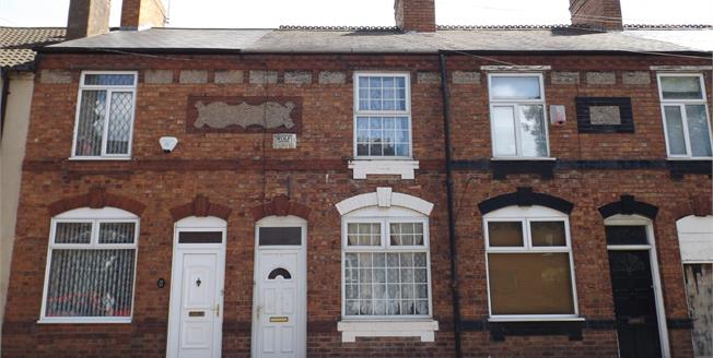 Offers Over £90,000, 2 Bedroom Terraced House For Sale in Wednesbury, WS10