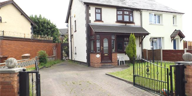 Offers Over £100,000, 3 Bedroom Semi Detached House For Sale in Willenhall, WV13
