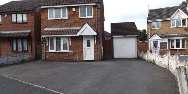 Offers Over £150,000, 3 Bedroom Detached House For Sale in Willenhall, WV13