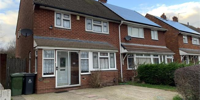 Offers Over £95,000, 3 Bedroom Semi Detached House For Sale in Walsall, WS3