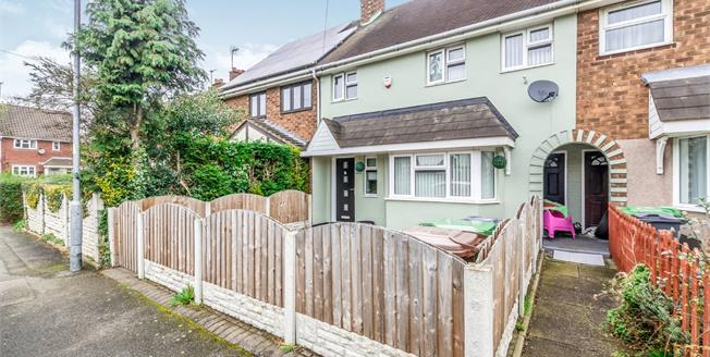 Offers Over £130,000, 3 Bedroom Terraced House For Sale in Walsall, WS2