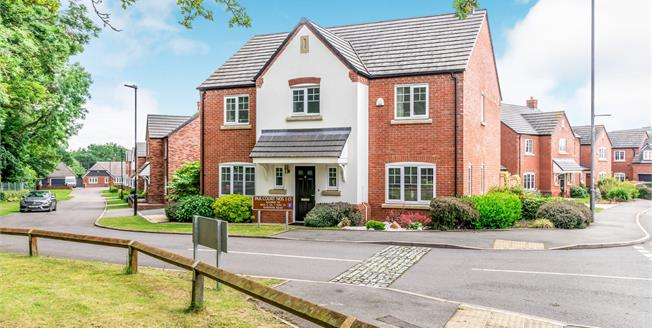 Offers Over £425,000, 5 Bedroom Detached House For Sale in Walsall, WS3