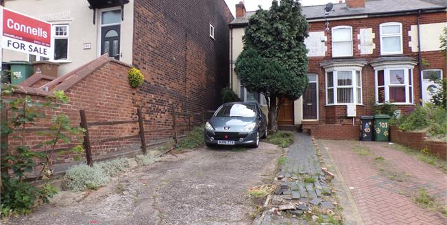 Offers Over £100,000, 2 Bedroom End of Terrace House For Sale in Walsall, WS1