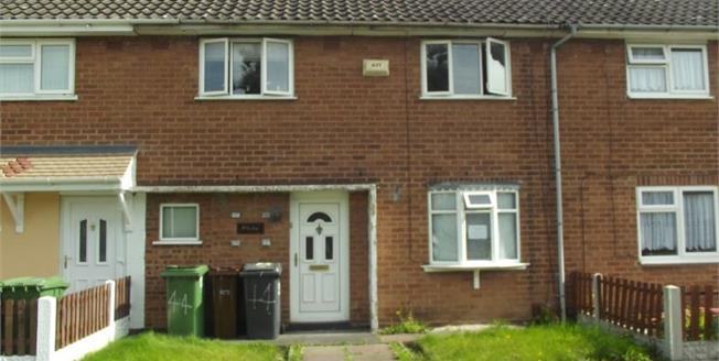 Asking Price £120,000, 3 Bedroom Terraced House For Sale in Wolverhampton, WV1