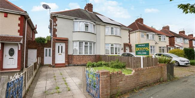 Offers in the region of £115,000, 3 Bedroom Semi Detached House For Sale in Wolverhampton, WV10