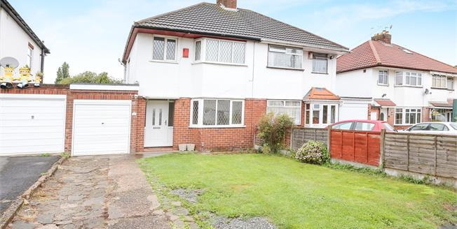 Offers in the region of £160,000, 3 Bedroom Semi Detached House For Sale in Wolverhampton, WV6