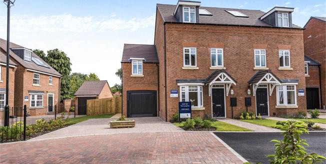 Asking Price £340,000, 4 Bedroom Semi Detached House For Sale in Wolverhampton, WV6