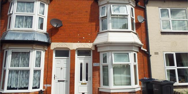 Asking Price £115,000, 3 Bedroom Terraced House For Sale in West Midlands, B10
