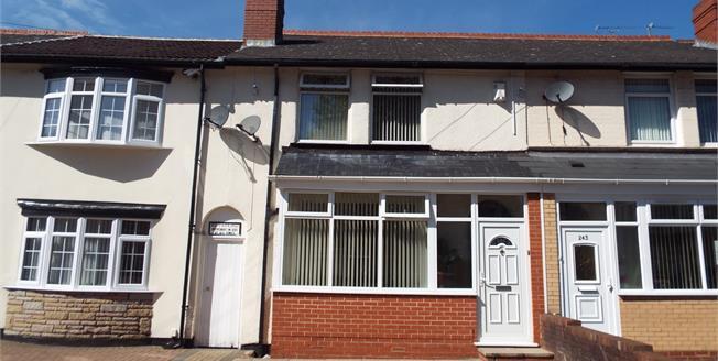 Asking Price £285,000, 4 Bedroom Terraced House For Sale in Birmingham, B10
