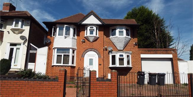 Offers Over £350,000, For Sale in Birmingham, B26