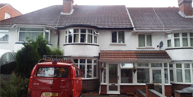 Asking Price £170,000, 3 Bedroom Terraced House For Sale in Birmingham, B33