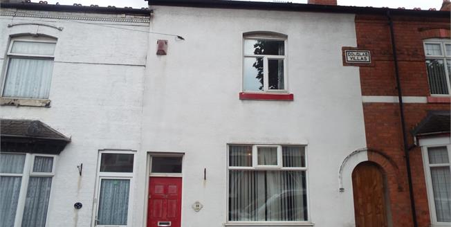 Asking Price £125,000, 2 Bedroom Terraced House For Sale in Birmingham, B25