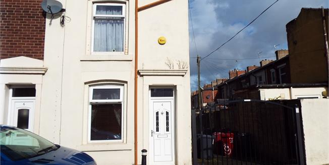 Asking Price £80,000, 2 Bedroom End of Terrace House For Sale in Blackburn, BB2