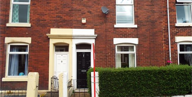 Offers Over £60,000, 2 Bedroom Terraced House For Sale in Blackburn, BB2