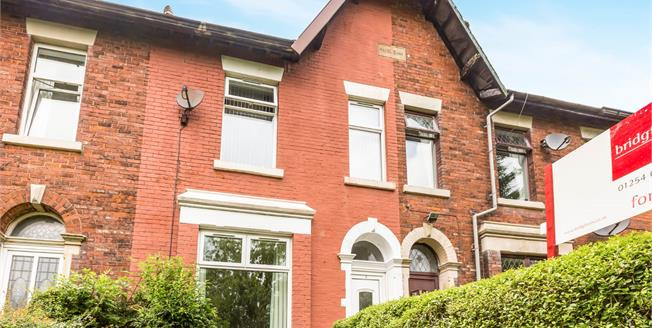 Offers Over £160,000, 3 Bedroom Terraced House For Sale in Blackburn, BB2