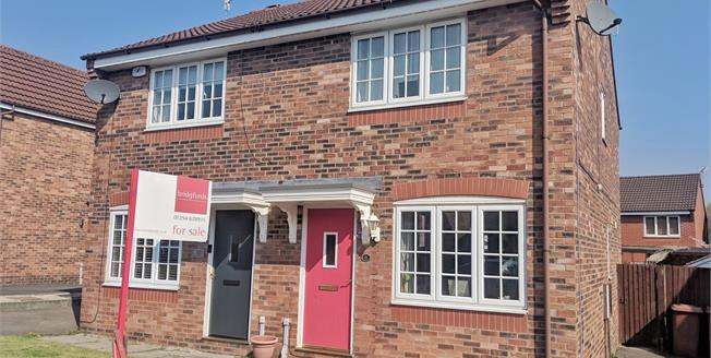 Offers Over £110,000, 2 Bedroom Semi Detached House For Sale in Blackburn, BB2