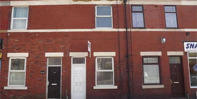 £80,000, 2 Bedroom Terraced House For Sale in Blackpool, FY1