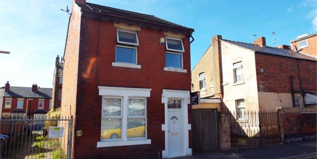 Offers Over £80,000, 3 Bedroom Detached House For Sale in Blackpool, FY1