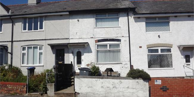 Offers Over £75,000, 2 Bedroom Terraced House For Sale in Blackpool, FY3