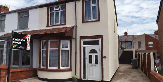 £120,000, 3 Bedroom End of Terrace House For Sale in Blackpool, FY1