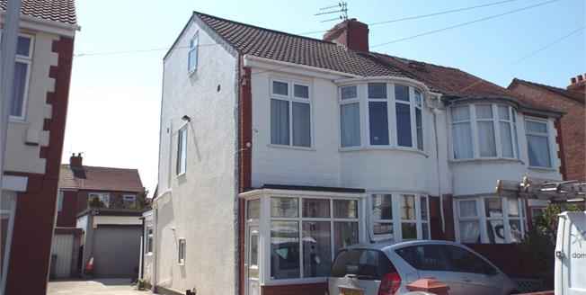 Offers Over £130,000, 5 Bedroom Semi Detached House For Sale in Blackpool, FY4