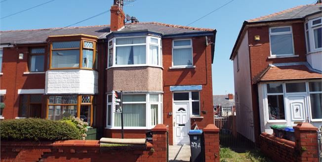 Offers Over £110,000, 3 Bedroom End of Terrace House For Sale in Blackpool, FY3
