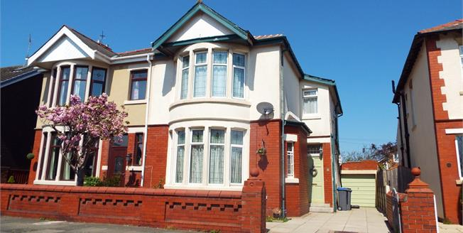 Offers in the region of £160,000, 3 Bedroom Semi Detached House For Sale in Blackpool, FY4